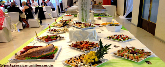 Catering Service - Hochzeitsbuffet